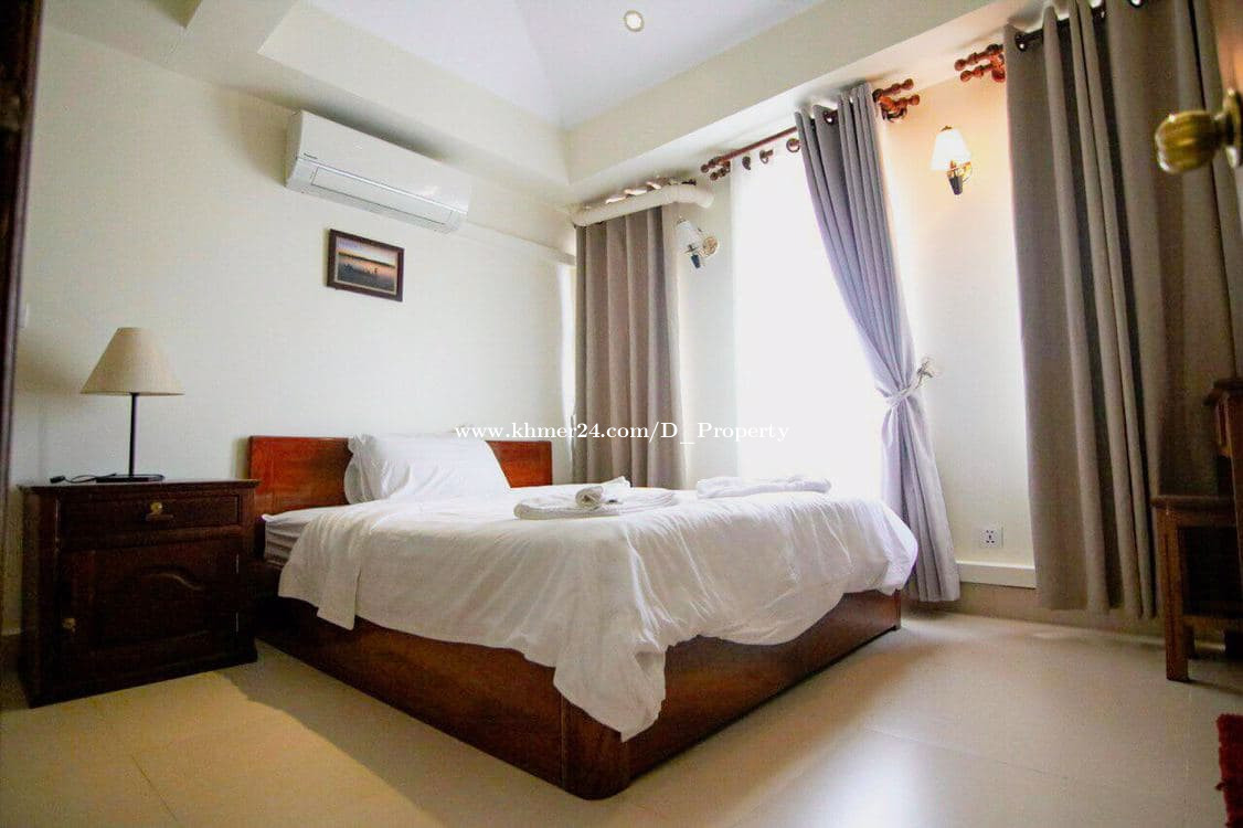 Western Apartment for Rent (2Bedroom: Tonle Bassac)