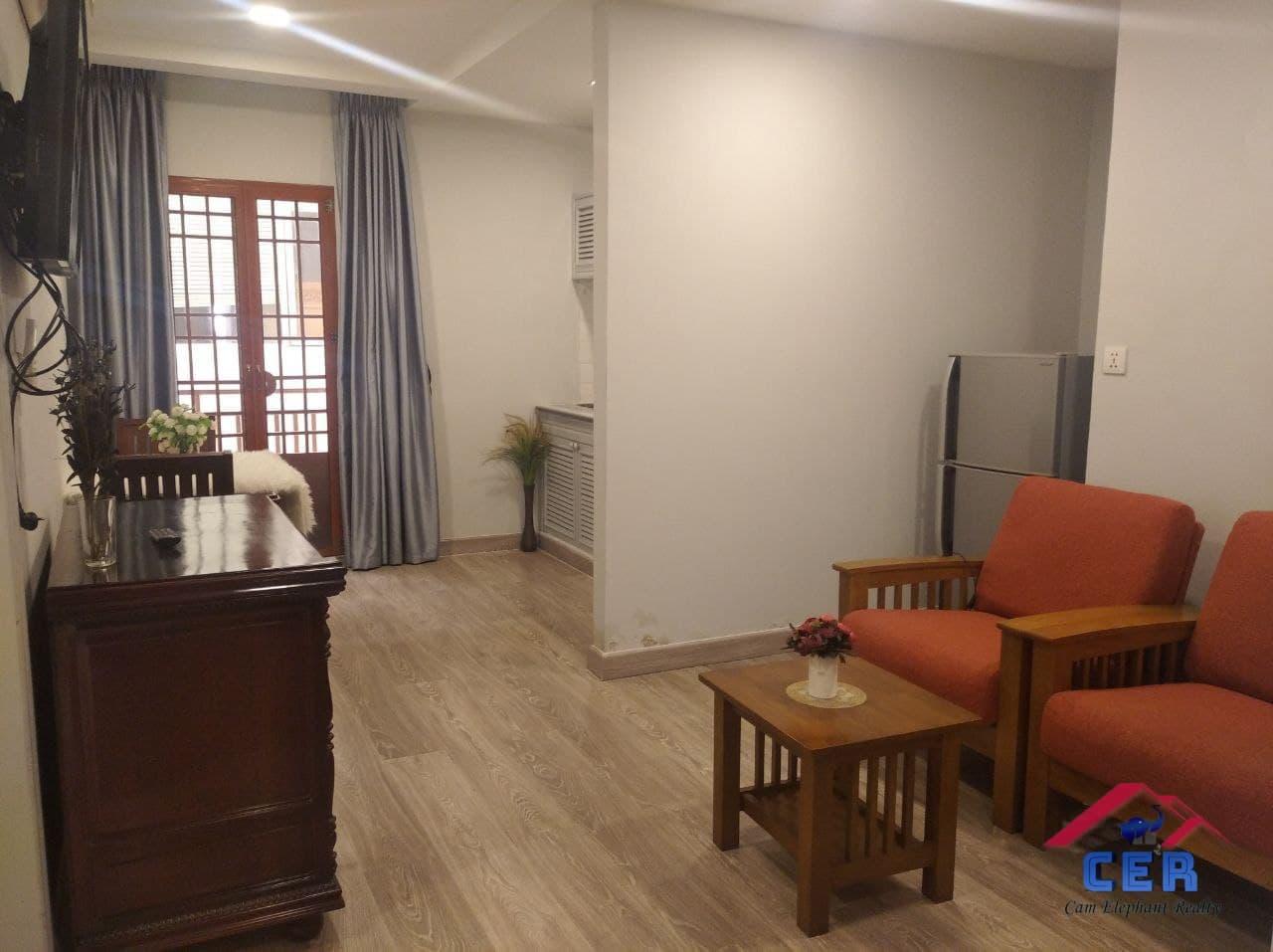 Nice Apartment for Rent (1Bedroom; BKK1 area)