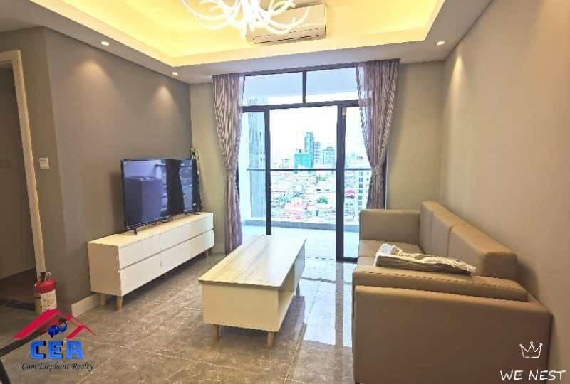 Modern Apartment for Rent (2 Bedrooms; BKK1 area)