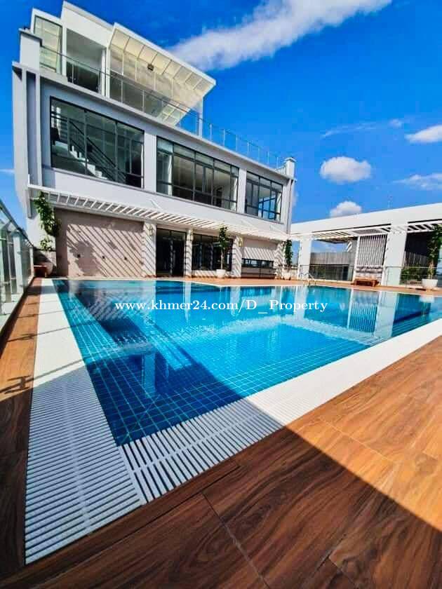 Luxury Apartment for Rent (1 Bedroom; BKK1 area)