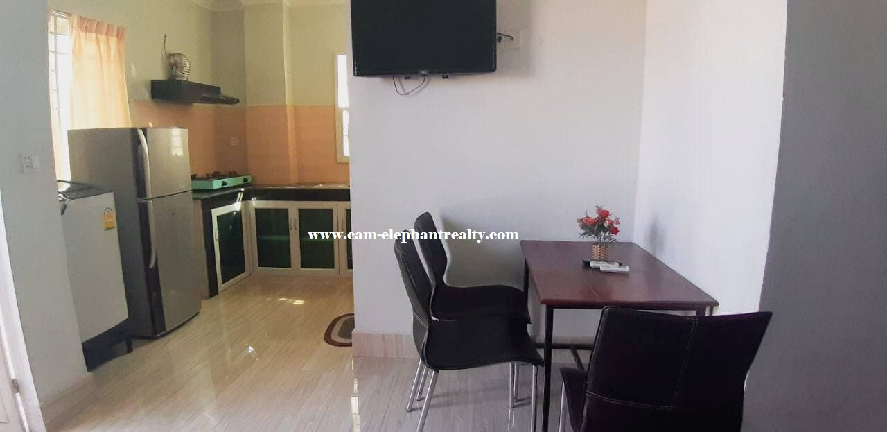 Apartment for Rent (1bedroom; Toul Kork area)