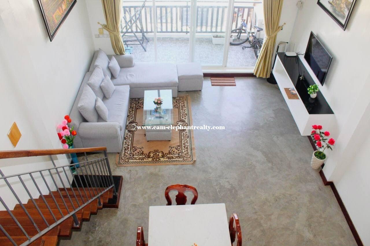 Modern Apartment for Rent (2 Bedroom; Kompuchea Krom area)