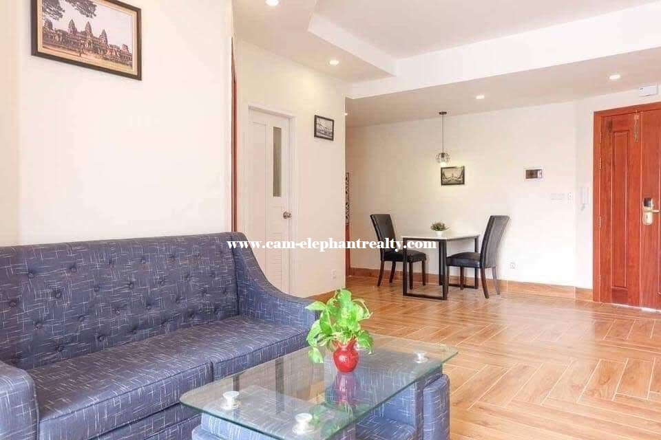 Apartment for Rent (1 Bedroom, BKK3 area)