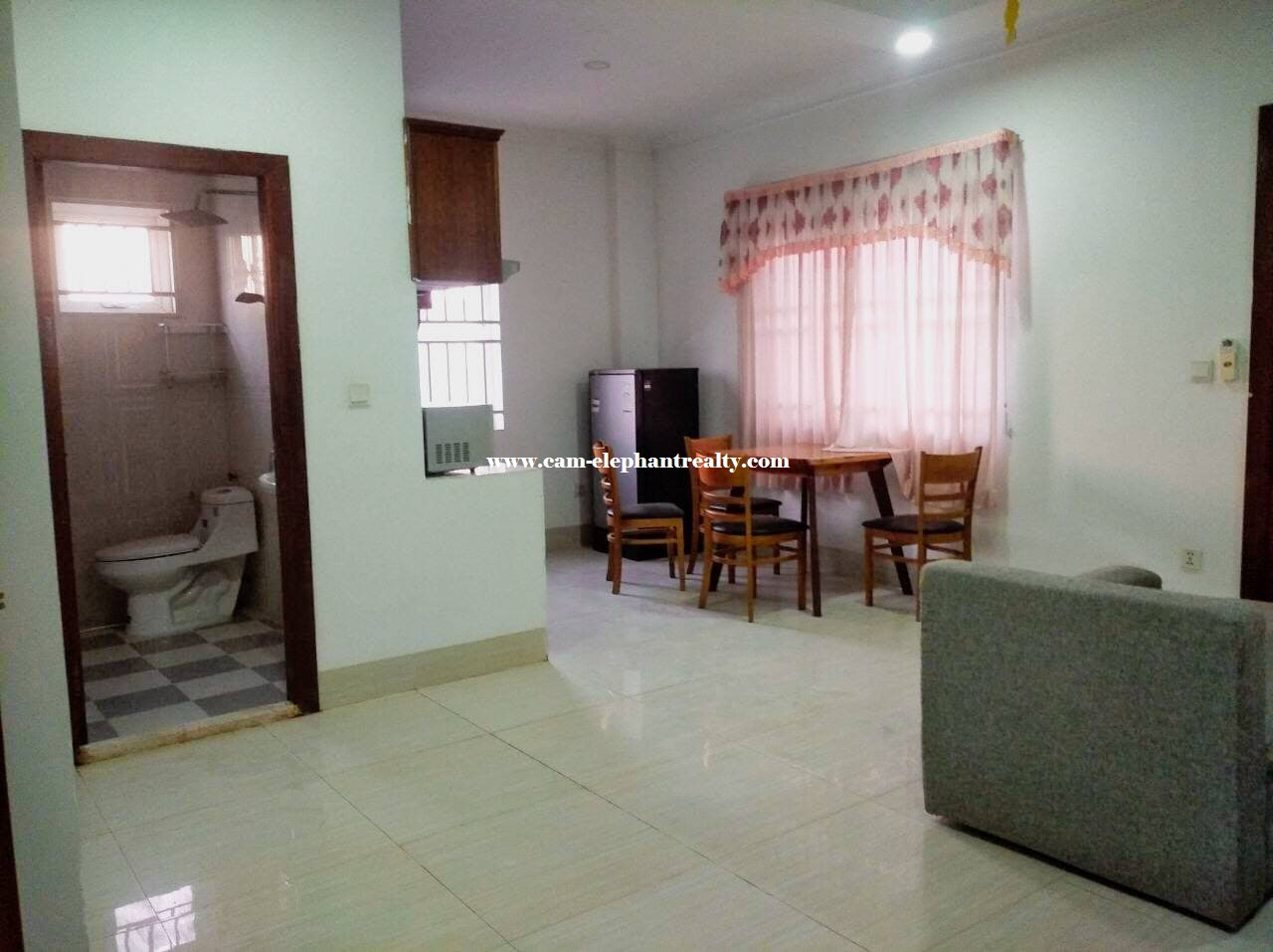 Apartment for Rent (1 Bedroom; Toul Kork area)