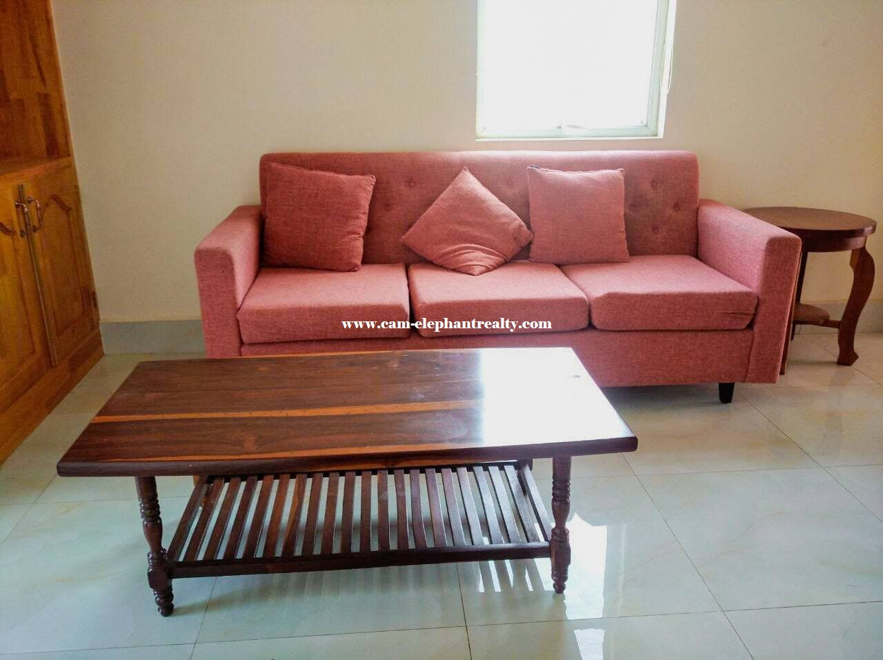 Western Apartment for Rent (1Bedroom: Boeung Trobek)