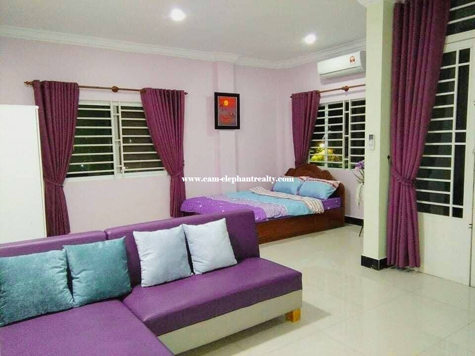 Apartment for Rent (StudioRoom; Phsar Doeum area)