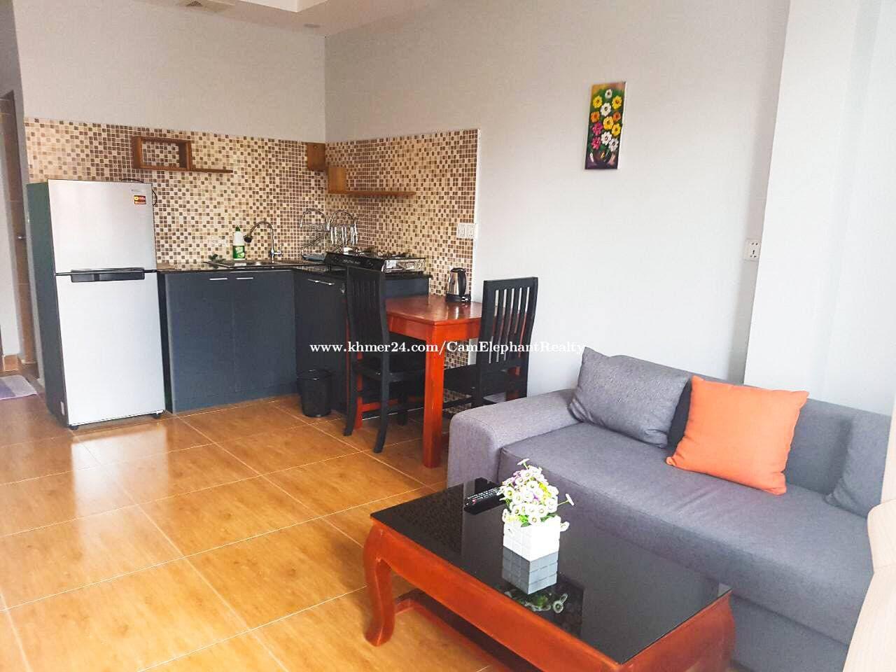 Apartment for Rent (1 Bedroom; Daun Penh area)