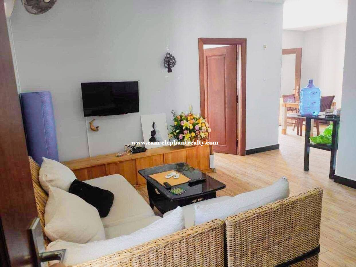 Apartment for Rent (1 Bedroom; Tomnob Teuk area)