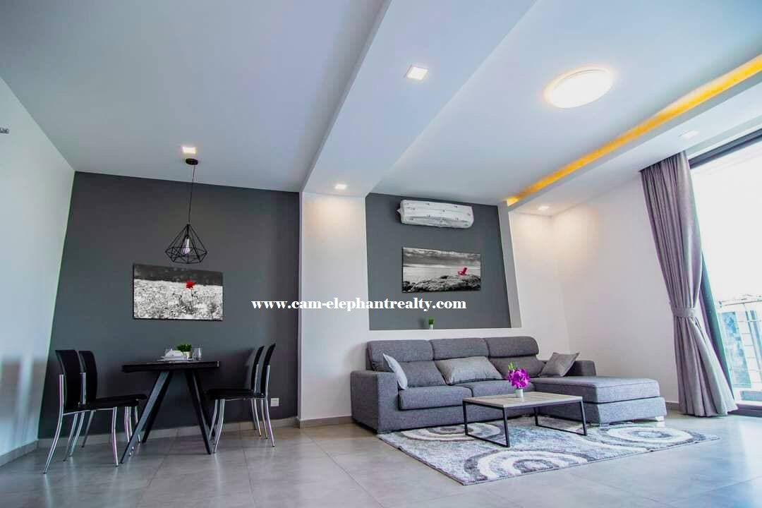 Apartment for Rent (2 Bedroom; Toul Kork area)