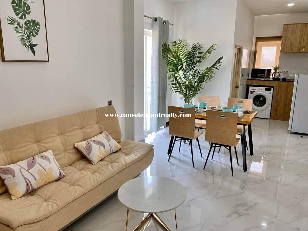 Luxury Apartment for Rent (Studio room; Toul Kork area)
