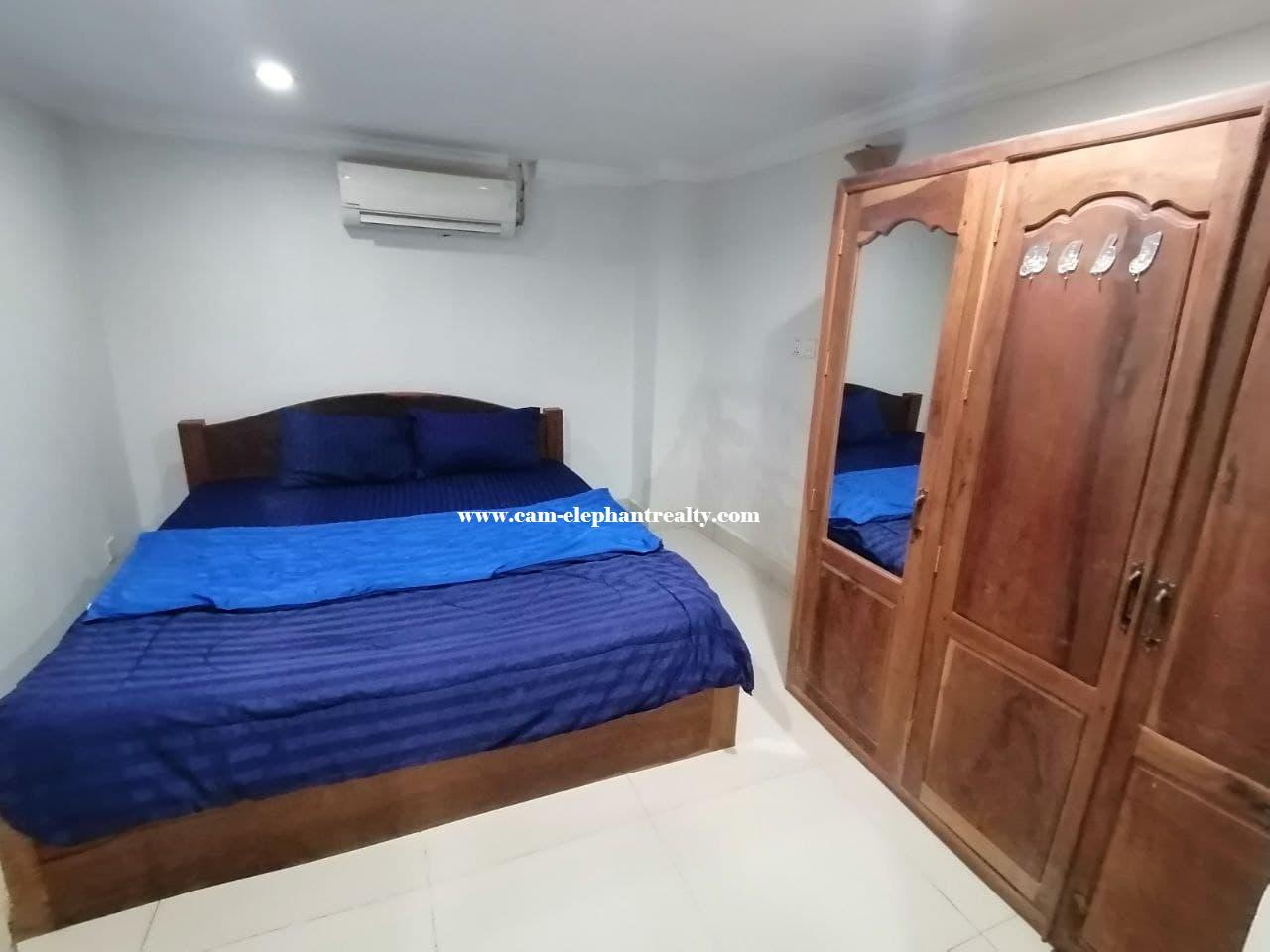 Studio room for Rent near Preah Kossamak Hospital