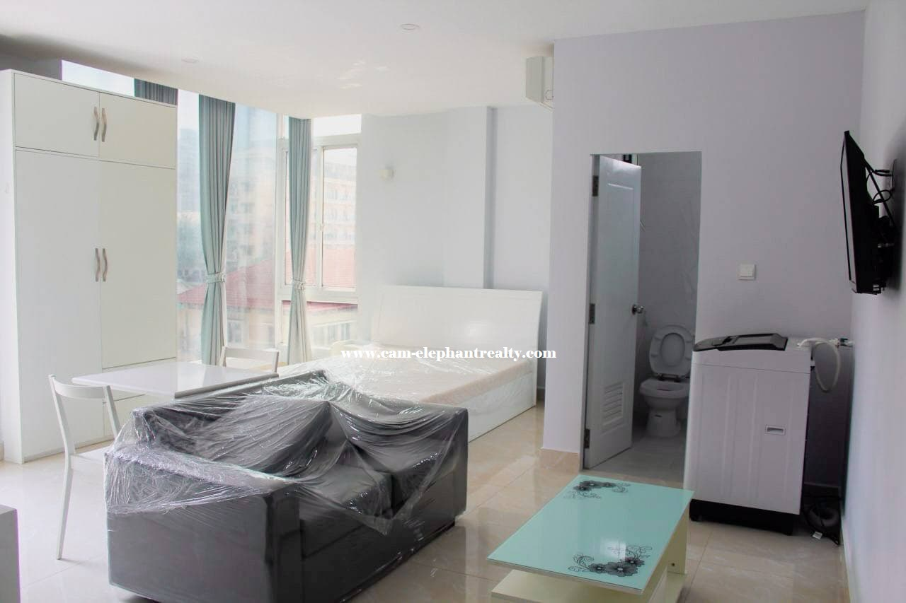Apartment for Rent (Studio room; BKK2 area)