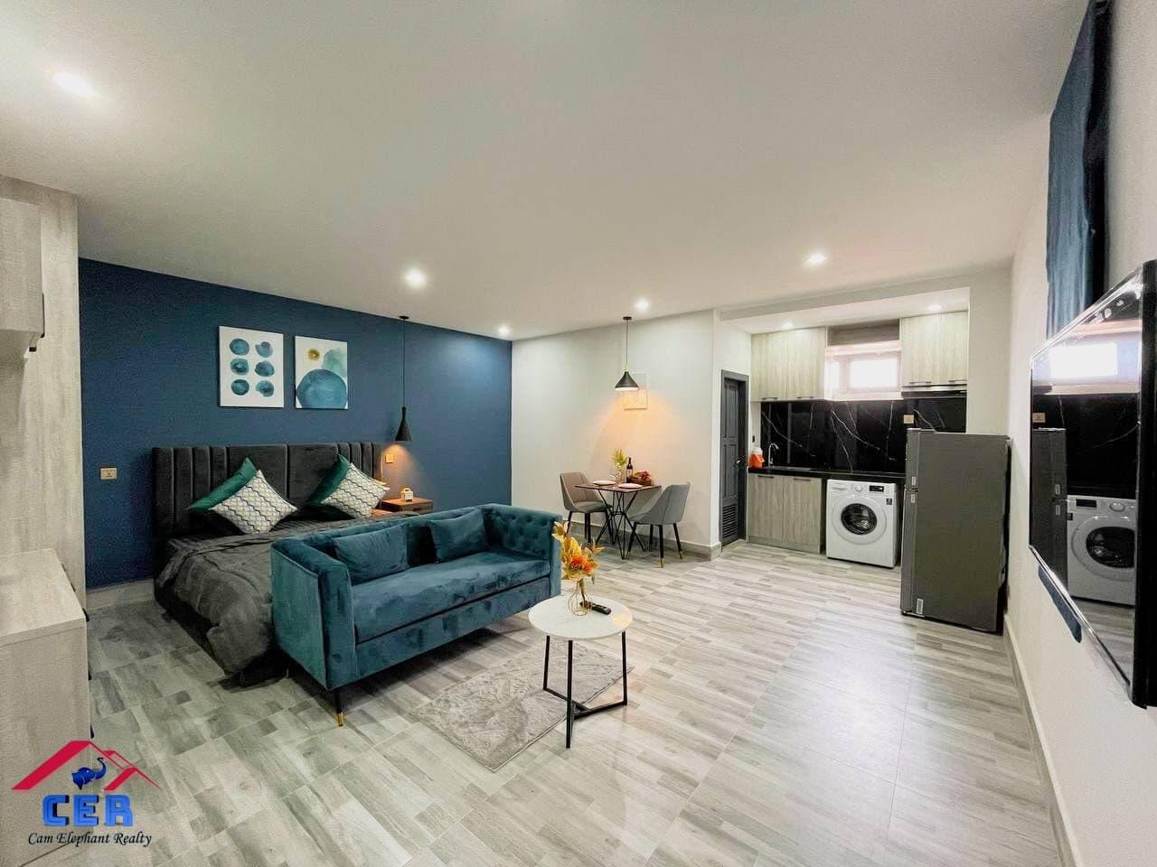 Luxury Apartment for Rent (Studio room; Tomnob Teuk area)